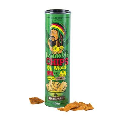 czipsy z konopi Cannabis Chips