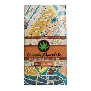 Czekolada mleczna Cannabis Chocolate
