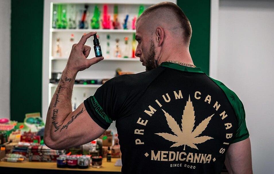 Rashguard koszulka na siłownię zielona