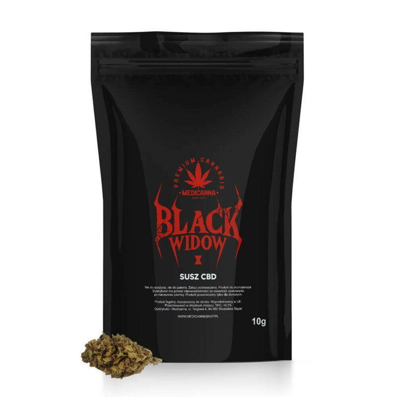 susz konopny cbd black widow 10g